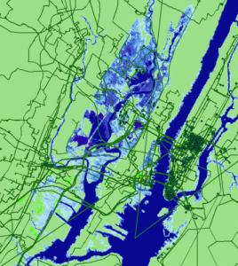 Photo: Map of New York City
